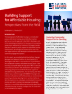 Building Support for Affordable Housing
