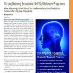 Strengthening Economic Self-Sufficiency Programs
