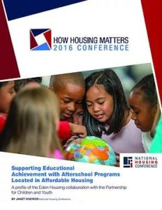 Supporting Educational Achievement with Afterschool Programs Located in Affordable Housing