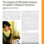 The Impacts of Affordable Housing on Health- A Research Summary